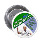 Anthony Gronowicz for NYC Mayor 2013 Pinback Buttons