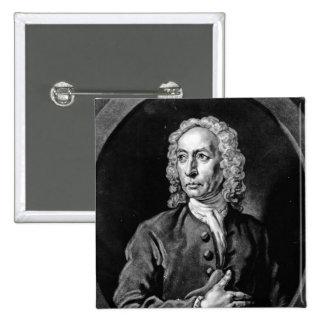 Anthony Sayer, engraved by John Faber Jr 15 Cm Square Badge