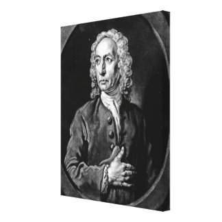 Anthony Sayer, engraved by John Faber Jr Canvas Prints