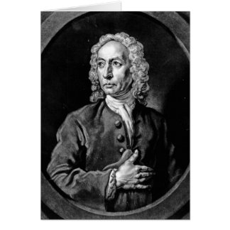 Anthony Sayer, engraved by John Faber Jr Greeting Card