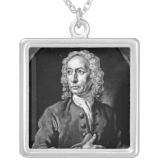 Anthony Sayer, engraved by John Faber Jr Silver Plated Necklace