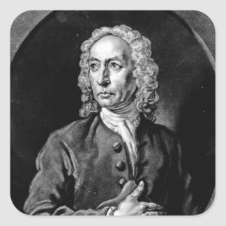Anthony Sayer, engraved by John Faber Jr Square Sticker