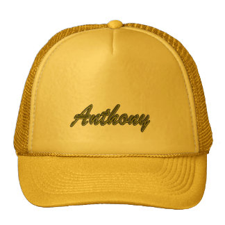 Anthony Solid Yellow Style Trucker Hat
