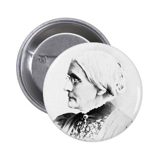 Anthony ~ Susan B. Woman Suffrage Leader 6 Cm Round Badge