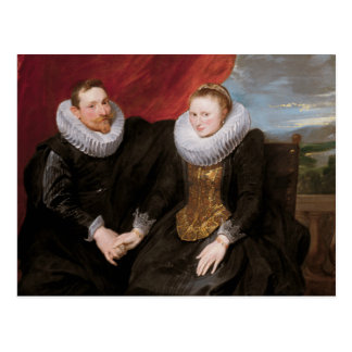 Anthony van Dyck - A Married Couple Postcard