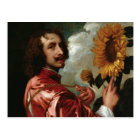Anthony van Dyck - Self-Portrait Postcard