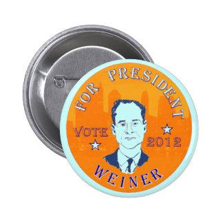 Anthony Weiner 2012 button