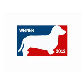 ANTHONY WEINER 2012 POSTCARD