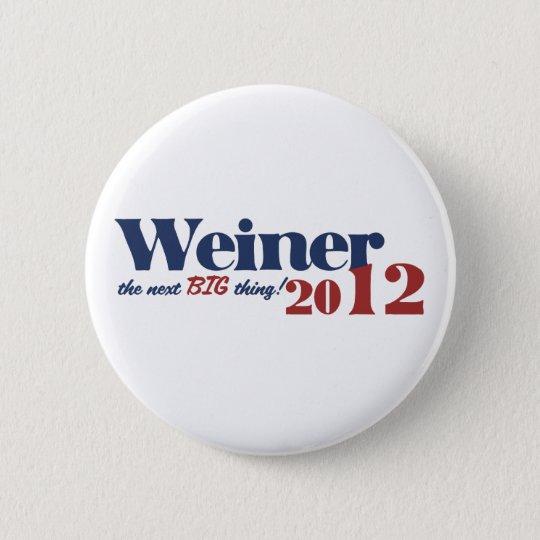 Anthony Weiner 6 Cm Round Badge