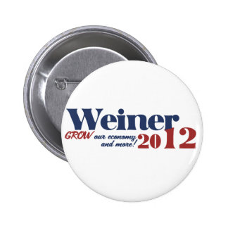 Anthony Weiner 6 Cm Round Badge