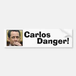 Anthony Weiner - Carlos Danger Car Bumper Sticker