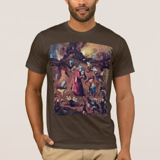 Anthony With Monsters. By Hieronymus Bosch T-Shirt