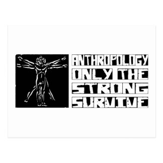 Anthropology Survive Postcard