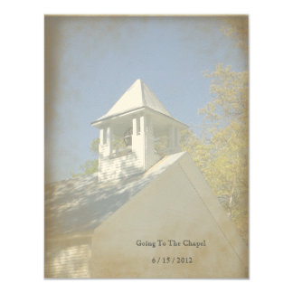 Anthropology Vintage Chapel Invitation