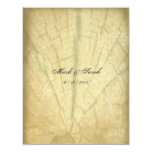 Anthropology Vintage Faded Rustic Wood2 Invitation 11 Cm X 14 Cm Invitation Card