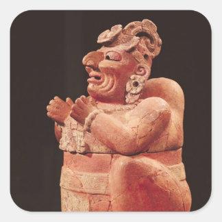 Anthropomorphic censer, from Guatemala Square Sticker