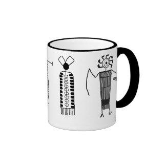Anthropomorphs Ringer Mug