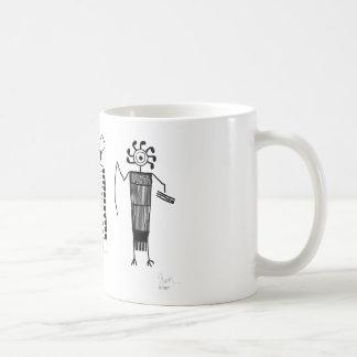 Anthropomorphs rock art mugs