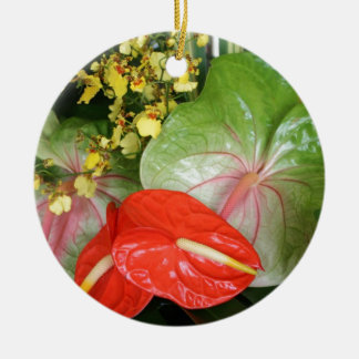 Anthurium Stunners! Christmas Ornament