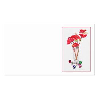 Anthurium Vase Pack Of Standard Business Cards