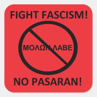 anti 2nd amendment square sticker