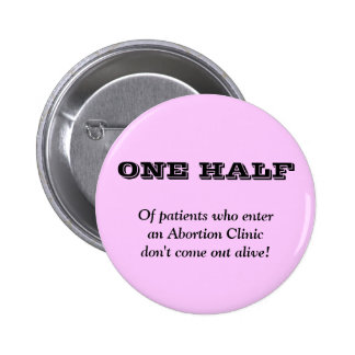 Anti Abortion 6 Cm Round Badge