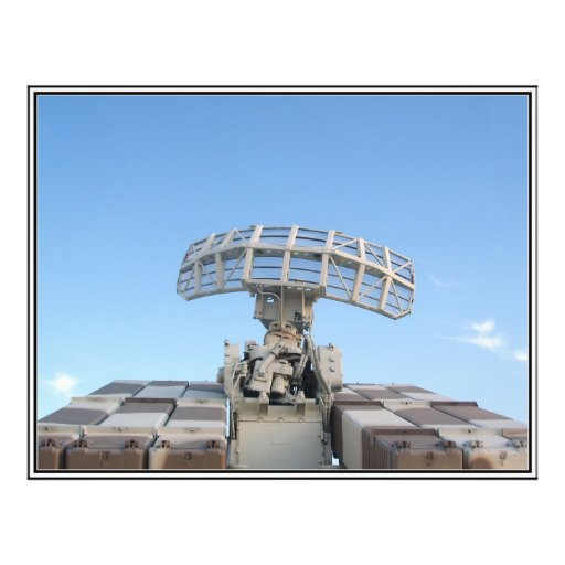 Anti Aircraft Tracking Radar Device Personalized Flyer