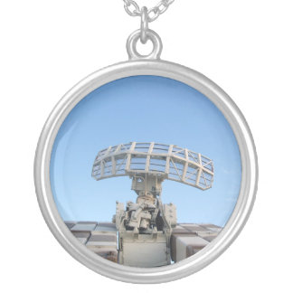 Anti Aircraft Tracking Radar Device Personalized Necklace