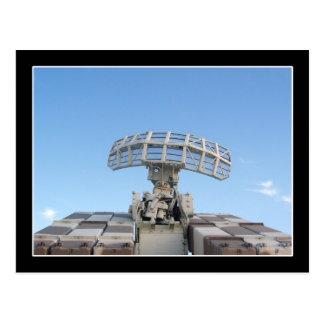 Anti Aircraft Tracking Radar Device Postcard
