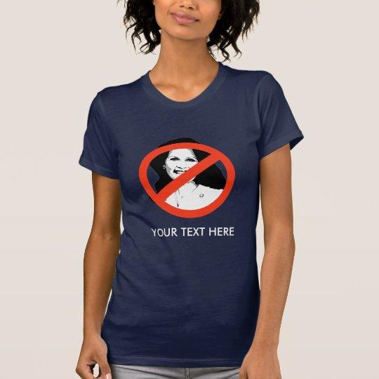 ANTI-BACHMAN: Anti-Michelle Bachman T-Shirt