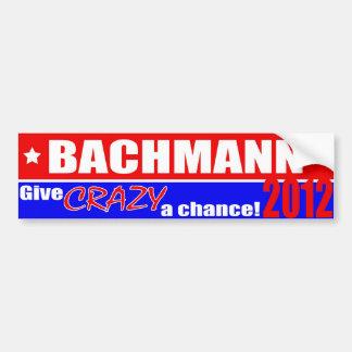 Anti-Bachmann Bumper Sticker