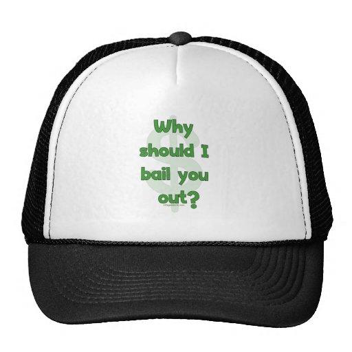 Anti-Bailout Trucker Hat