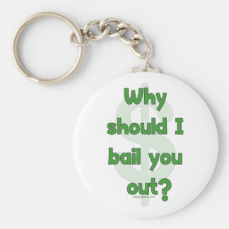 Anti-Bailout Keychain