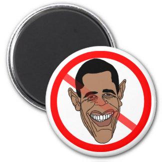 Anti Barack Hussein Obama 6 Cm Round Magnet