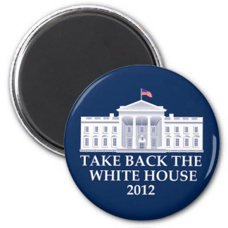Anti Barack Obama Design 6 Cm Round Magnet