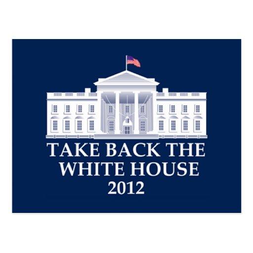 Anti Barack Obama Design Postcard