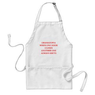 anti barack obama gifts t-shirts adult apron