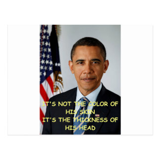 anti barack obama post card