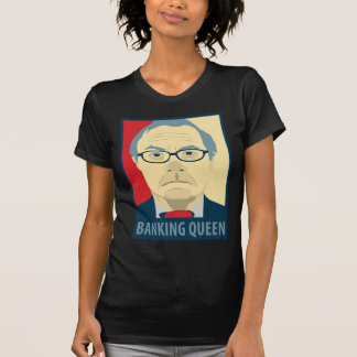 Anti-Barney Frank Banking Queen T-Shirt