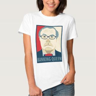 Anti-Barney Frank Banking Queen T-shirt