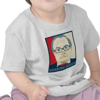 Anti-Barney Frank Banking Queen T Shirt