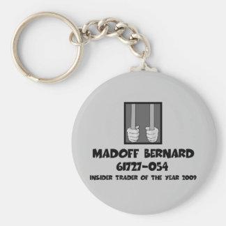 Anti Bernard Madoff jail Keychain