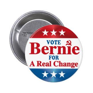 Anti Bernie Sanders Campaign 6 Cm Round Badge