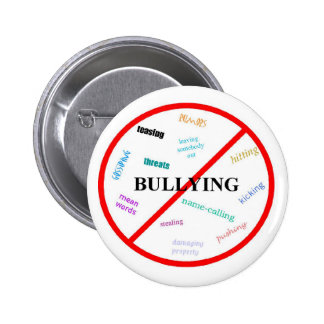 Anti Bullying 6 Cm Round Badge