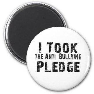 Anti Bullying Pledge Refrigerator Magnet