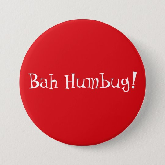 Anti Christmas 7.5 Cm Round Badge
