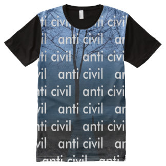 "Anti Civil ""All Over"" Shirt All-Over Print T-Shirt"