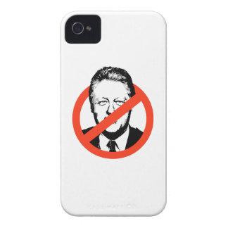 ANTI CLINTON - ANTI BILL CLINTON iPhone 4 CASES