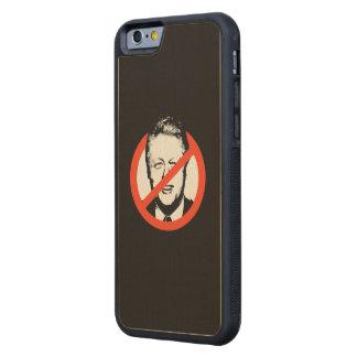 Anti-Clinton - Anti-Bill Clinton Maple iPhone 6 Bumper Case
