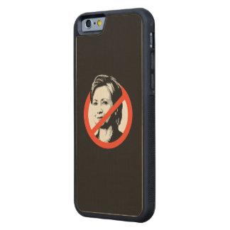 Anti-Clinton - Anti-Hillary Clinton Maple iPhone 6 Bumper
